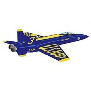 X-Kites WindNSun WindForce 40 3-D Nylon Kite - Blue Angels