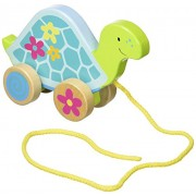 Susibelle Wooden Pull Along Turtle - Toddler Toy