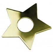 Star Trading Dekoration Stjärna till elljusstake mässing 7-pack