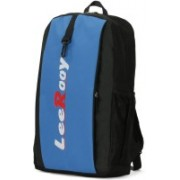LeeRooy 14 inch Inch Laptop Backpack(Blue)