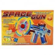 DDH Musical Space Gun With Flashing Light Toy Gift For Kids