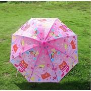 My Party Suppliers Peppa Pig Piggy Pink Umbrella / Peppa Pig Children Straight Sun Rain Umbrellas / Umbrella for Kids / Umbrella for Girls / Umbrella for Boys ( 55*61 cm) 1 pcs