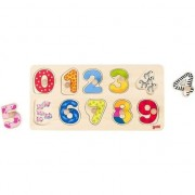 Joc puzzle - invata sa numeri