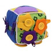SKK BABY SKK Baby Little Hands Learn To Dress Cube Activity Toy For Boys Girls