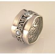 Inel argint perla R10568-1 (MASURI IN STOC ⤵: 56 mm circumferinta sau 17,8 mm diametru interior, Piatra: perla de cultura, Categorie: inele)