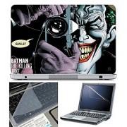 FineArts Laptop Skin 15.6 Inch With Key Guard & Screen Protector - Killing Joke