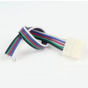 Connecteur à Câble RGB+W 12mm (Pour bande flexible)