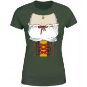 Oktoberfest Chest Women's T-Shirt - Forest Green - M - Forest Green