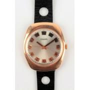 Zlaté náramkové hodinky Raketa 2609 HA