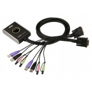 KVM SWITCH, ATEN CS682, 2x1, USB, DVI