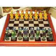 Sárkányos sakk készlet