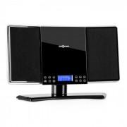 OneConcept AM V14 stereo / FM CD MP3 AUX negru (MISM1-V14-B)