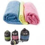 Кърпа за къмпинг и туризъм 60 x 120 см. - 3 налични цвята - KING CAMP, MAS-KA4216-blue