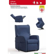 ErgoRelax Poltrona Relax Astra con Due Motori Alzapersona Ampia scelta Tessuti Prodotto Italiano