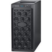DELL EMC PowerEdge T140 4x3.5in, Intel Xeon E-2124 3.3GHz, 8M cache, 4C/4T, turbo (71W), 8GB 2666MT/s DDR4, 2x 1TB 7.2K RPM SATA Entry 3.5in, iDrac9 Basic, DVDRW SATA, 3Y NBD