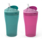 Summer Infant Sippy Stackers Straw Cup Girl 10 Ounce