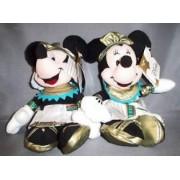 Disney Globe-trotting Egyptian Mickey and Minnie Bean Bags