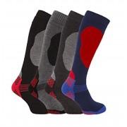 Titan Ski Socks Set 4 perechi Sosete Schi,Moto Ciorapi Ski Marimi 39-45