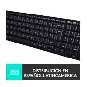 Teclado Logitech K230, Inalámbrico, USB, Negro (Inglés)