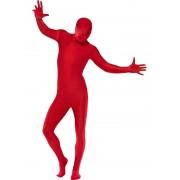Costum carnaval barbati Second Skin rosu