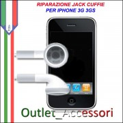 Riparazione Riparare Jack Cuffie Auricolari Musica Porta Iphone 3g 3gs