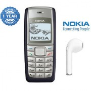 Nokia 1110 / Good Condition/ Certified Pre Owned (1 Year Warranty) with HBQ Bluetooth
