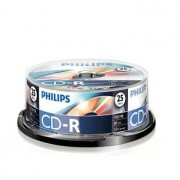 Philips CD-R Philips 700Mb 52x 80min Spindle Pack 25
