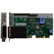 Мрежов (LOM) адаптер за сървъри Lenovo ThinkSystem, 2 x 10Gb оптични мрежови порта, 7ZT7A00546
