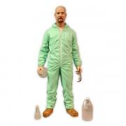 mezco Breaking Bad figurine Walter White Blue Hazmat Suit 15 cm