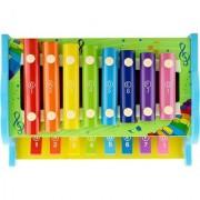 Emob Multicolor Xylophone Glockenspiel Knock PIANO For Kids Musical TOY With 8 Notes (Multicolor)
