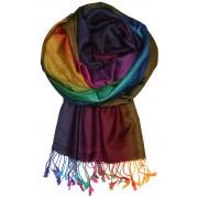 Rainbow - elegantní šála MIX