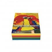 Carton color A4 160gr/mp, 250coli/top 10 culori Daco CN162