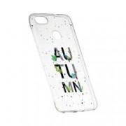 Husa Silicon Transparent Slim Toamna 145 Huawei P9 Lite Mini