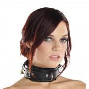 Strict Leather Premium Fur Lined Locking Collar- SM