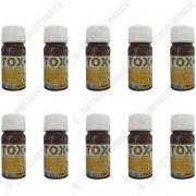 Pachet 10 bucati - Sanitox 40ml, Insecticid ( echivalent regent ) otrava pentru gandaci, plosnite, purici, muste, tantari, molii, omizi, 10 x 40ml