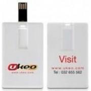 USB памет ESTILLO SD-25F, 8GB, Бяла - SD-25F