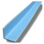 Socepi Profilo in espanso ad L colore blu per la protezione di tavole di legno,oggetti plastica, bancali, misure 65x65mm, spessore 6 mm, lunghezza 2 metri - confezione 100 pezzi