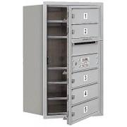 Salsbury Industries 3707s-05afp 4 °C Horizontal buzón, aluminio