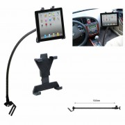 Draagbare Flexibele Auto Tablet Stand Auto Floor Seat Gooseneck Mount Houder Stand voor iPad 7-10.1 inch Tablet PC