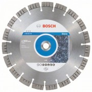 Диск диамантен за рязане Best for Stone 300 x 20,00 x 2,8 x 15 mm, 2608603747, BOSCH