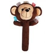 Baby Soft Toys - Brown Monkey Rattles for Baby Boy | Girl | Infants Plush Animal …