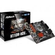 ASROCK H110M-HDV R3.0, H110, DDR4 2133, DVI-/D-Sub/HDMI