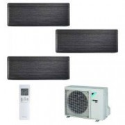 Daikin Climatizzatore Daikin Trial Split STYLISH Blackwood inverter R 32 bluevolution 9000+9000+12000 con 3MXM52M 9+9+12