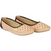 FAUSTO Stylish Bellies For Women(Natural)