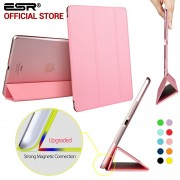 Case for iPad Air, ESR Yippee Color PU Transparent Back Ultra Slim Light Weight Trifold Smart Cover Case for iPad Air/ 5