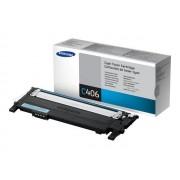 Samsung CLT-C406S - Cyan - originale - cartouche de toner - pour CLP-360, 365, 368; CLX-3300, 3305, 3306; Xpress C460, C467