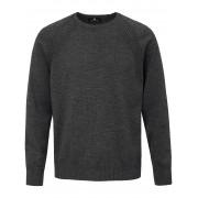 Peter Hahn Rundhals-Pullover aus 100% Schurwolle-Merino Peter Hahn grau