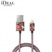 iDeal of Sweden - (MFi) Lightning USB Ladekabel Datenkabel 1m (IDFCL-63) - Antique Roses