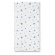 Muselina Bambu Stars Azul Pirulos
