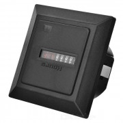 HM-1 Industrial Timer - Black (0~99999.99 Hours)
